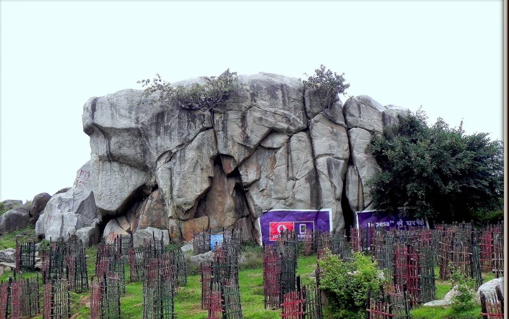 A granite tor near Ranchi