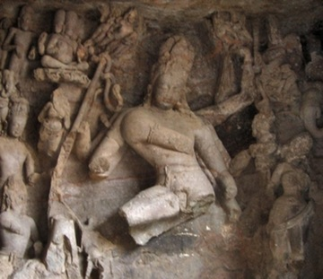 Image result for elephanta caves sculptures